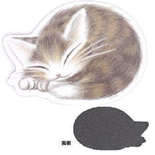 わちふぃーるど 猫のダヤン マウスパッド 丸猫