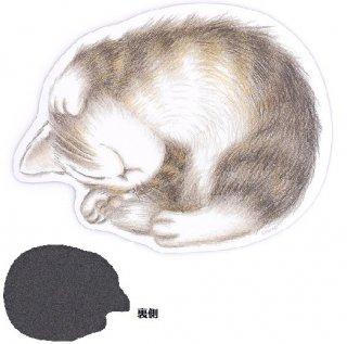 わちふぃーるど 猫のダヤン マウスパッド 寝返り