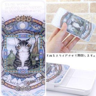 わちふぃーるど 猫のダヤン アートマルチケース 曼荼羅