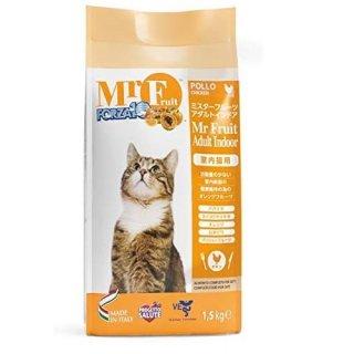 FORZA10 フォルツァ10 室内猫用ドライ ミスターフルーツ アダルトインドア 1.5kg
