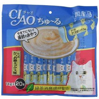 CIAO ちゅ~る かつお かつお節ミックス味 14g×20本入