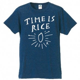 TIME IS RICE TEE