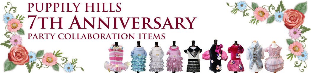 PUPPILYHILLS 7th Anniversary コラボ商品