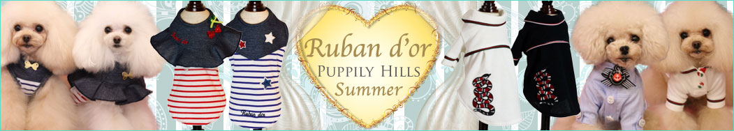 Ruban d'or summer collection