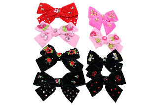 Medium Bow 【Bumble Bee】