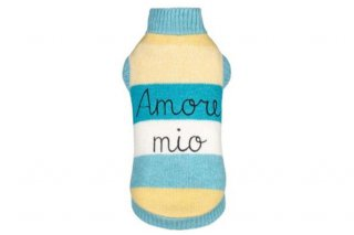 【ご予約】AMORE MIO PULL YELLOW AND TURQUOISE【for pets only】<img class='new_mark_img2' src='https://img.shop-pro.jp/img/new/icons11.gif' style='border:none;display:inline;margin:0px;padding:0px;width:auto;' />