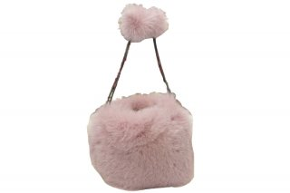 FOX FUR BAG【Ruban d'or】