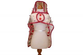 clear pearl raincoat【ducie】