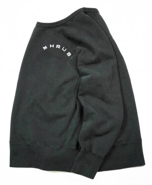 Garment Dye Crew Neck Black
