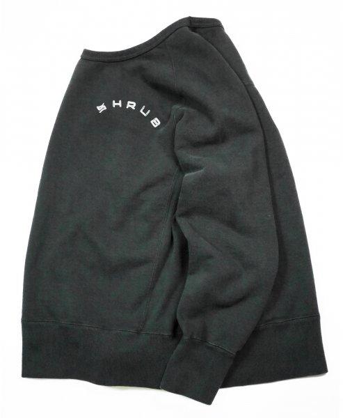 Garment Dye Crew Neck Black