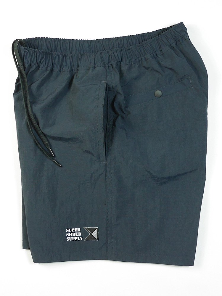 Ripstop Nylon Shorts Dark Navy