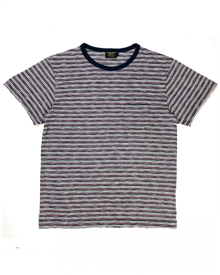 Basic Tee Stripe 001