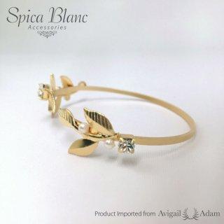 【Crystal Pearls& Twigs】ブレスレット【Avigail Adam】