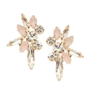 【Star Burst Peony】ピアス・gold【Elizabeth Bower Maid】
