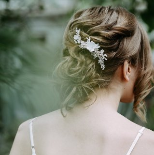 【Fleurs de Cerisier】さくらフローラルヘッドドレス【aino】