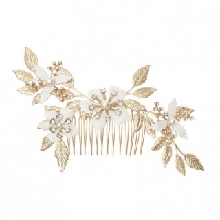 【Weiss Fleur Comb】フラワーコーム【Elizabeth Bower】