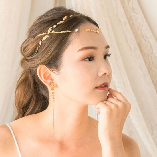 <img class='new_mark_img1' src='https://img.shop-pro.jp/img/new/icons14.gif' style='border:none;display:inline;margin:0px;padding:0px;width:auto;' />【Elf Gold Hair Chain】エルフヘアチェーン【Avigail Adam】