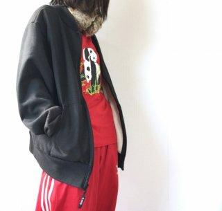 【再入荷】中国パンダ 半袖Tシャツ 赤(レッド)//クリックポスト可