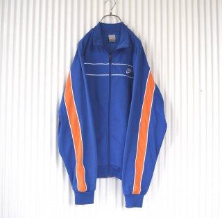 NIKE ELEVATEトラックジャケット XL 青×オレンジ
