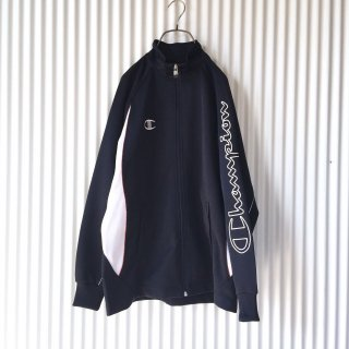 Champion 袖ビッグロゴ トラックジャケット
