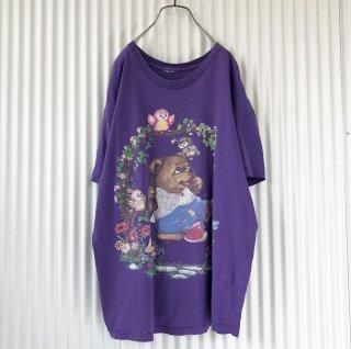 小鳥とブランコくまちゃん BIGTシャツ