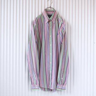 Ralph Lauren マルチストライプシャツ
