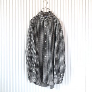 Ralph Lauren ポロ刺繍ブロックチェックシャツ