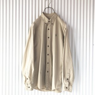 Polo Ralph Lauren ボタンダウンシャツ/秋色ベージュ
