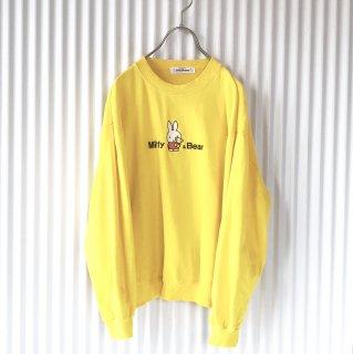 Dick Bruna Miffy&Bear 刺繍スウェット