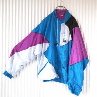 PRIMERO 寒色切り替えナイロンジャケット