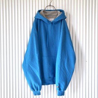 Champion 袖ロゴゆるスウェットフーディ/XL
