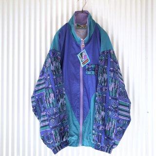 JEANTEX 90'sパターンジップブルゾン