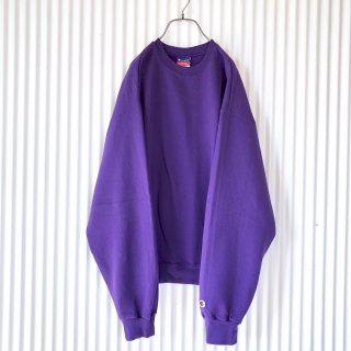 Champion 袖ロゴスウェット/violet