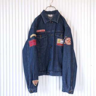 USJ PEANUTS バック刺繍デニムジャケット