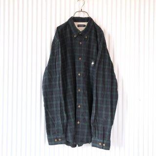 Sholtie Club ワンちゃん刺繍チェックシャツ