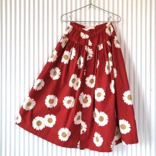 PINK HOUSE フラワーギャザーロングスカート