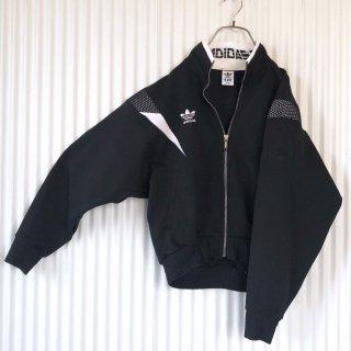 adidas 襟ロゴヴィンテージトラックジャケット