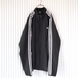 adidas 3ラインシャカジャケット/Black