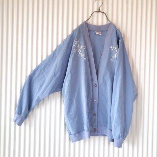 ボタニカル刺繍サマーカーディガン/USA