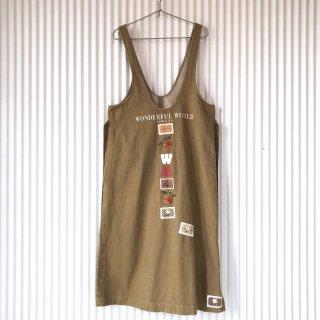 WONDERFUL WORLD フラワー×チェリージャンパースカート