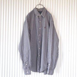 Ralph Lauren ポロ刺繍ギンガムチェックシャツ