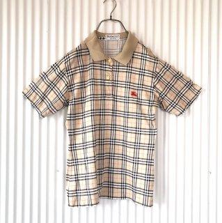BURBERRYS チェックポロシャツ