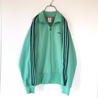 adidas ピンストライプラグラントラックジャケット