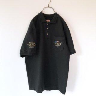 HARLEY-DAVIDSON ポケットロゴポロシャツ