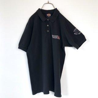 HARLEY-DAVIDSON 刺繍ロゴポロシャツ/USA