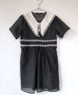 sister jane レースセーラーカラーミニドレス