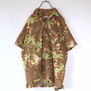 NATURE TRAIL 親子ライオンメンズシャツ