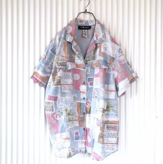 SAG HARBOR AIRMAILデザインシャツ
