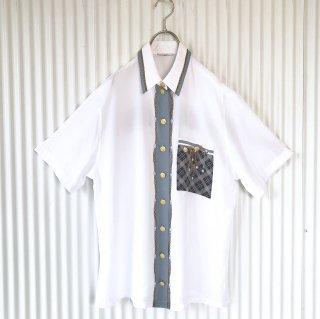 ラグジュアリーデザインプリントシャツ