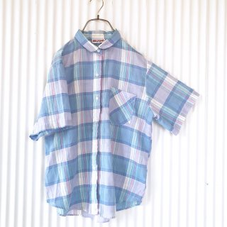 BALFOUR パステルサマーチェックシャツ/USA